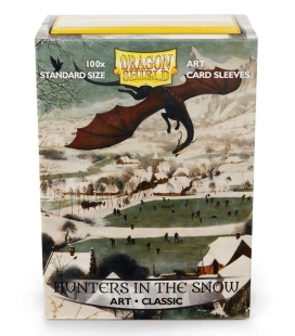 Fundas Standard  Art Sleeves Classic Hunters in the Snow Dragon Shield - Paquete de 100