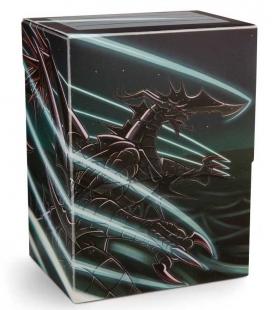 Caja de mazo Dragon Shield Deck Shell Art Jet Extanium