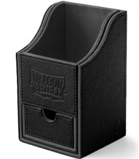Caja de mazo Nest Box Dragon Shield Grande - Color Negro