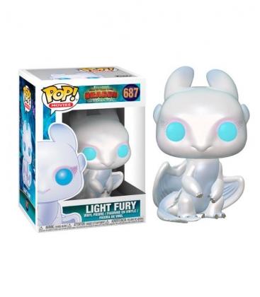 Funko POP! 687 Light Fury - Cómo Entrenar a tu Dragón