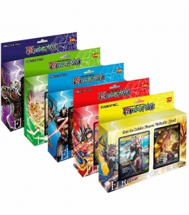 Display de mazos de inicio El Renacer del Valhalla / New Dawn Rises Español - cartas Force of Will