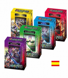 Display de mazos de inicio Noches Remotas Español - cartas Force of Will