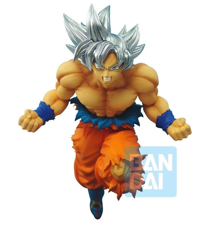 Figura DRAGON BALL SUPER SON GOKU (ULTRA INSTINCT) Z-BATTLE de Bandai