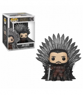 Funko POP! 072 Jon Snow on Iron Throne - Juego de Tronos