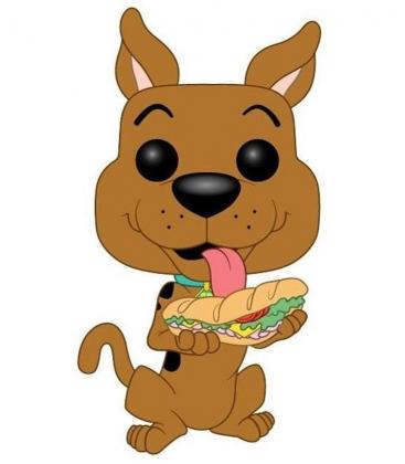 Funko POP! Scooby Doo with sandwich - Scooby Doo