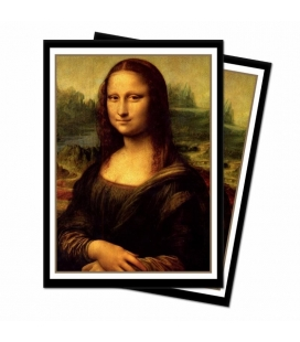 Fundas Standard  Ultra Pro - Featuring Historic Art -Mona Lisa -  65 Sleeves  - Paquete de 65