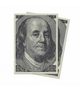 Fundas Standard  Ultra Pro - Featuring Historic Art - Benjamin Franklin - 100 Sleeves  - Paquete de 100
