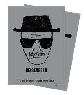 Fundas Ultra Pro  Breaking Bad Heisenberg. Tamaño Standard  66x91 mm - Paquete de 100