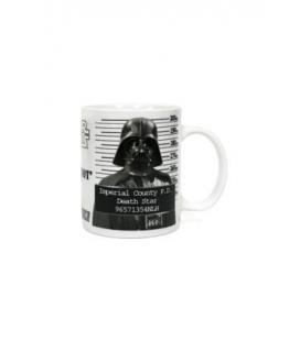 Taza cerámica Darth Vader Fichado. Star Wars