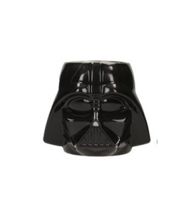 Taza cerámica 3D Cabeza Darth Vader. Star Wars