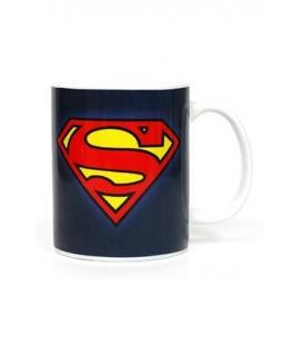 Taza cerámica Logo Superman. DC Comics