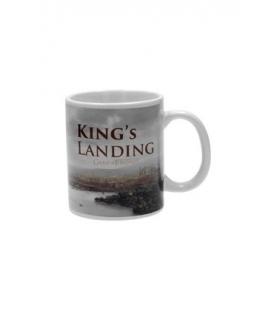 Taza cerámica King´s Landing. Juego de Tronos