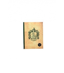 Libreta con luz Slytherin. Harry Potter