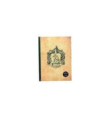 Libreta con luz Slytherin. Harry Potter
