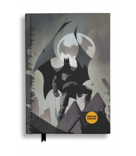 Libreta con luz Batman Batseñal. DC Comics