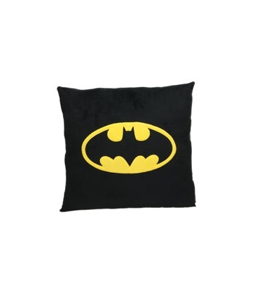 Batman Símbolo cojín cuadrado. DC Comics