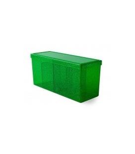 Caja de mazo Dragon Shield Cuatro compartimentos - Para 320 cartas. Color Emerald