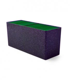 Caja de mazo Dragon Shield Cuatro compartimentos - Para 320 cartas. Color Night Blue
