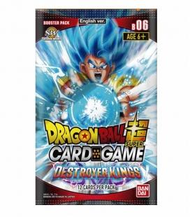 Dragon Ball Super Card Game Caja de sobres Destroyer Kings Inglés