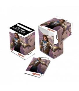 Hojas de 18 bolsillos Premium negras Ultra Pro - 50 unidades