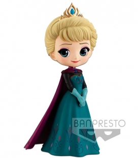 Figura Q posket Disney Characters -Elsa Coronation Style-(A Normal color ver) de Banpresto