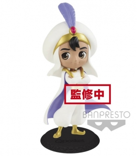 Figura Q posket Disney Characters Aladdin Prince Styler (B:Pastel color ver) de Banpresto