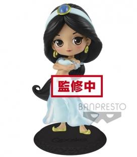 Figura Q posket Disney Characters Jasmine Prince Styler (B:Paster color ver) de Banpresto