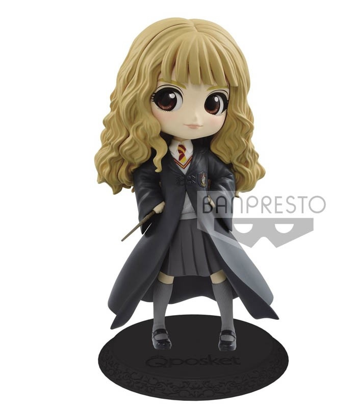 Figura Harry Potter Q posket-Hermione Granger-II(B:Light color ver) de Banpresto
