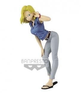 Figura DRAGON BALL Z GLITTER&GLAMOURSANDROID NO.18-?(ver.A) 23cm de Banpresto