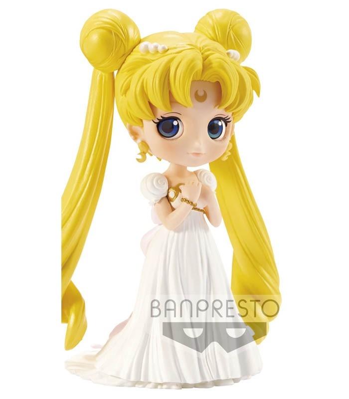 Figura Pretty Guardian Sailor Moon Q posket-princess SERENITY 14cm de Banpresto