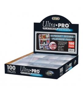 Caja de mazo para cartas Solid Ultra Pro. Para 85 cartas. Color Lime Green