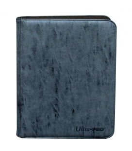 UP - Binder - Zippered Suede PRO 9-Pocket Premium