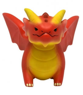 Figurines of Adorable Power Red Dragon Ultra Pro
