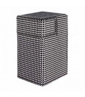 Caja de mazo Deck Box M2 Limited Checkerboard Ultra Pro. Color Negro