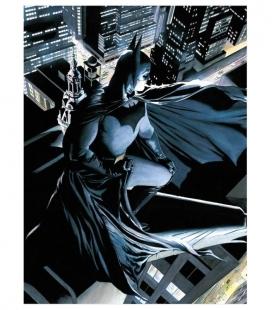Batman Vigilante Póster de Vídrio 30x40