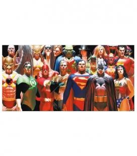 Liga de la Justicia Póster de Vídrio 60x30