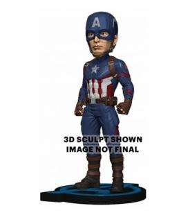 Figura Head Knocker - Captain America 20cm de Neca. Endgame