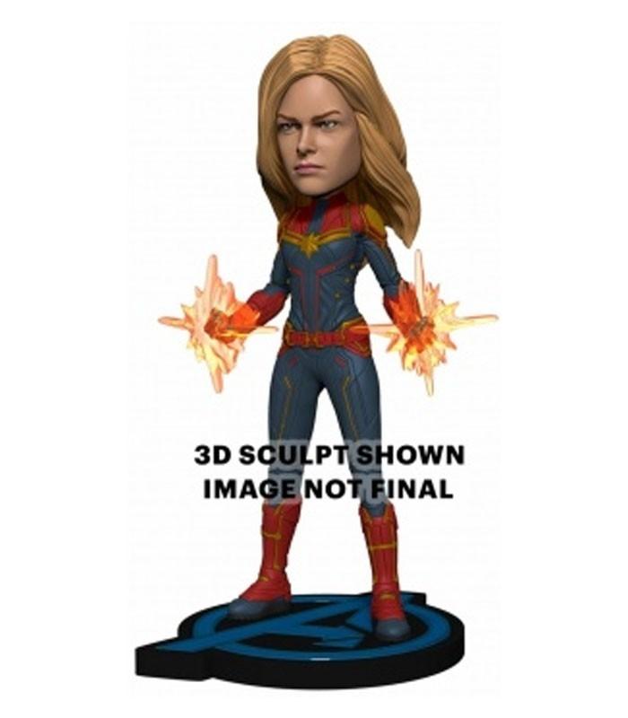 Figura Head Knocker - Captain Marvel 20cm de Neca. Endgame
