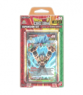 Dragon Ball Super Card Game Expansion Set Unity of Saiyans Inglés Display de 6