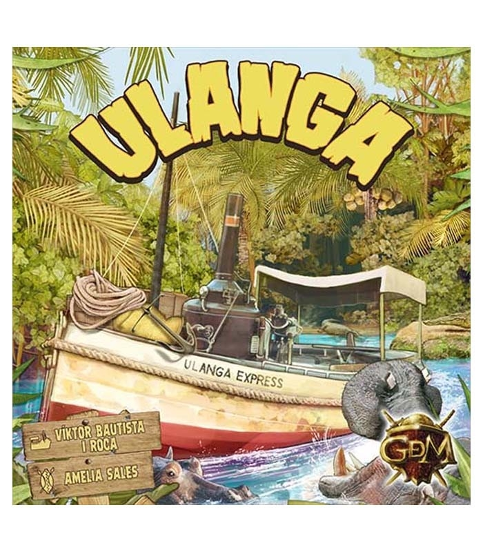Ulanga Express Juego de Mesa - GDM Games