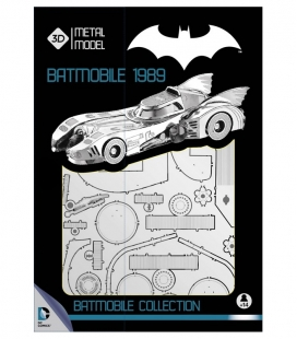Batmovil 1989 Metal Model Kit 3D Universo DC