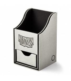Caja de mazo Nest Box + Grandes Dragon Shield Light Grey-Black - Color Gris