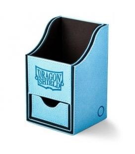 Caja de mazo Nest Box + Grandes Dragon Shield Blue-Black - Color Azul