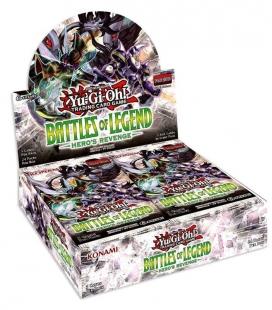 Caja de sobres Battle of Legend: Heroes Revenge Inglés - cartas Yu-Gi-Oh