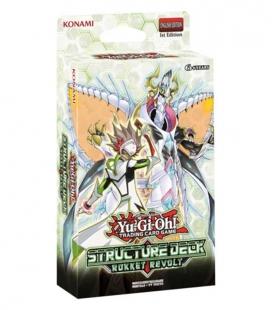 Structure Deck Rokket Revolt Display de 8 mazos Inglés - cartas Yu-Gi-Oh